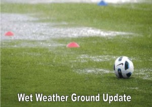 Wet Weather Ground Update